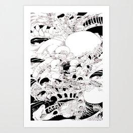 tomb ore Art Print