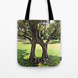 Dance of the Olive Tree Tote Bag