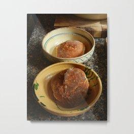 Bread Bowls Metal Print