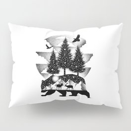 A NIGHT IN ALASKA Pillow Sham