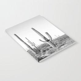Grey Cactus Land Notebook