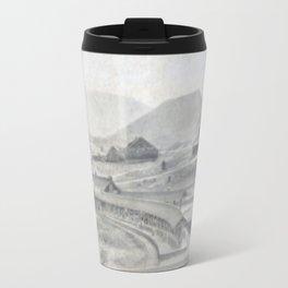 Yellowstone Northern Pacific Rail Time Table Travel Mug