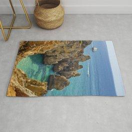 rock formations, the Algarve Rug