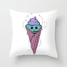 Sweet mondays be like Throw Pillow