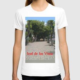 Icod de los Vinos   (A7 B0014) T-shirt