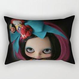 MODERN GEISHA CUSTOM BLYTHE DOLL KENNER  Rectangular Pillow