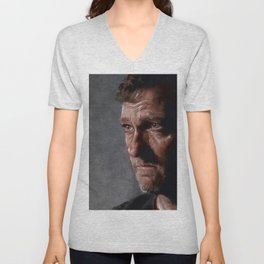 Richard From The Kingdom - Bury Me Here - The Walking Dead Unisex V-Neck