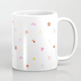 A Few of My Favorite Things Emojis Coffee Mug