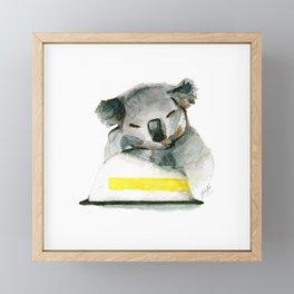 Safe & Sound Framed Mini Art Print