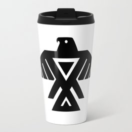 Native American Thunderbird Symbol Flag Travel Mug