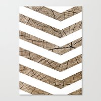 tree rings Canvas Prints featuring Tree Rings by Tyler