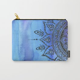 Blue MANDALA Carry-All Pouch