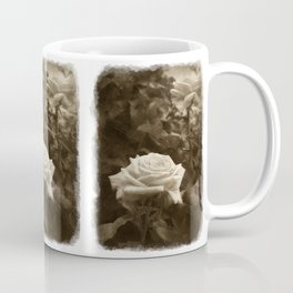 Pink Roses in Anzures 5 Antiqued Coffee Mug