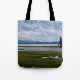 Pelican Creek - Yellowstone Lake Tote Bag