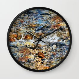 Peaceful Soothing Waters Wall Clock
