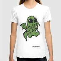 cthulu T-shirts featuring Cute Cthulu  by Nikki Hung