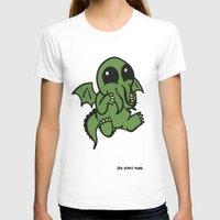 cthulu T-shirts featuring Cute Cthulu  by Nikki Hung