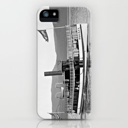 Vintage Mohican Steamboat iPhone Case