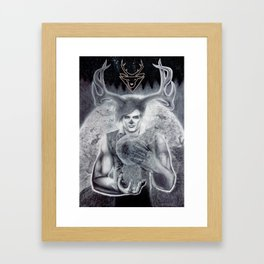 The Vision and the Veil Framed Art Print
