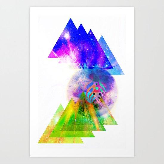 Above & Beyond Art Print
