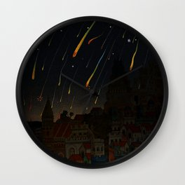 Resplendent Firmament Wall Clock