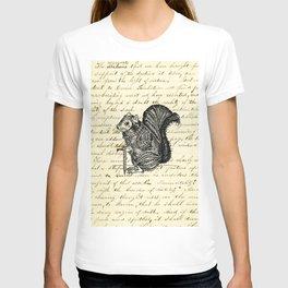 Warrior Squirrel T-shirt
