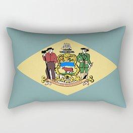 Flag of Delaware Rectangular Pillow