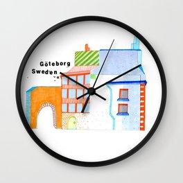 Göteborg Little Building Wall Clock