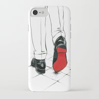 code iPhone & iPod Cases featuring Code Red by anna hammer