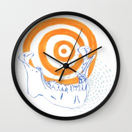 A Jaw Wall Clock
