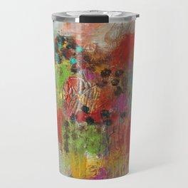 Colorful Heart Travel Mug