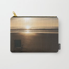 Beach Chair at Sunrise Carry-All Pouch