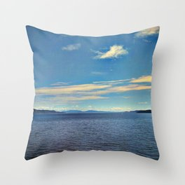 strike the bell Throw Pillow