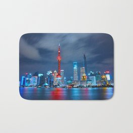 Shangai, China Bath Mat
