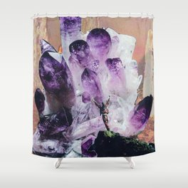 Jump The Mountains Shower Curtain