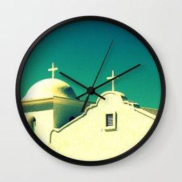 Dos Cruzas fine art photography Wall Clock