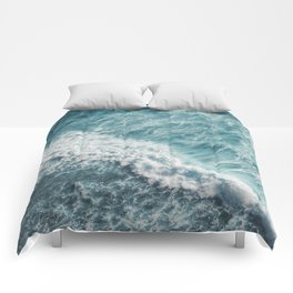 Saltwater Feelings Ocean Surf Comforters