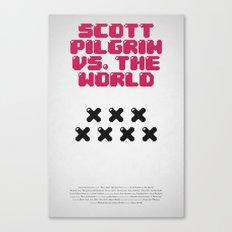 Scott Pilgrim vs. The World Canvas Print