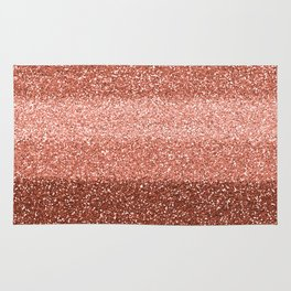 Rose Gold Sparkle Rug