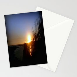 Dusk over Lakes Entrance Stationery Cards