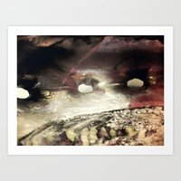 shell Art Prints featuring Shell by SteeleCat