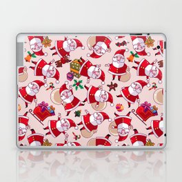 Santa Gift Pattern Laptop & iPad Skin