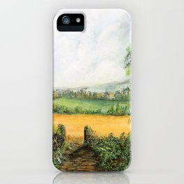 Forest Clearing - 1988 iPhone Case