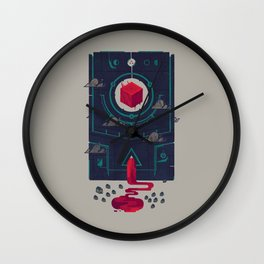 It was built for us by future generations Wall Clock