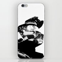 master chief iPhone & iPod Skins featuring Master Chief by drass