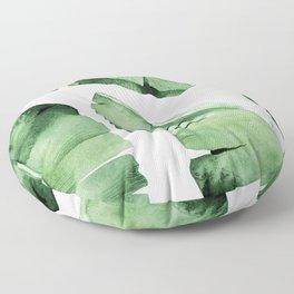 Tropical Banana Leaf Floor Pillow