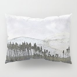 Loch,trees and mountains, Scottish Highlands Pillow Sham