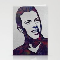 coldplay Stationery Cards featuring chris martin by ketizoloto