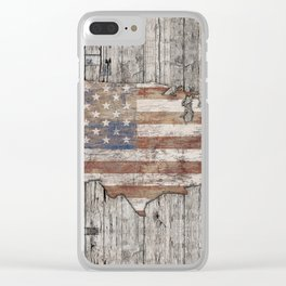 USA Map Life - Square Clear iPhone Case