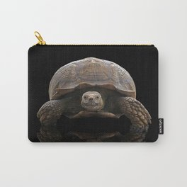 Sulcata Tortoise with Reflection Carry-All Pouch